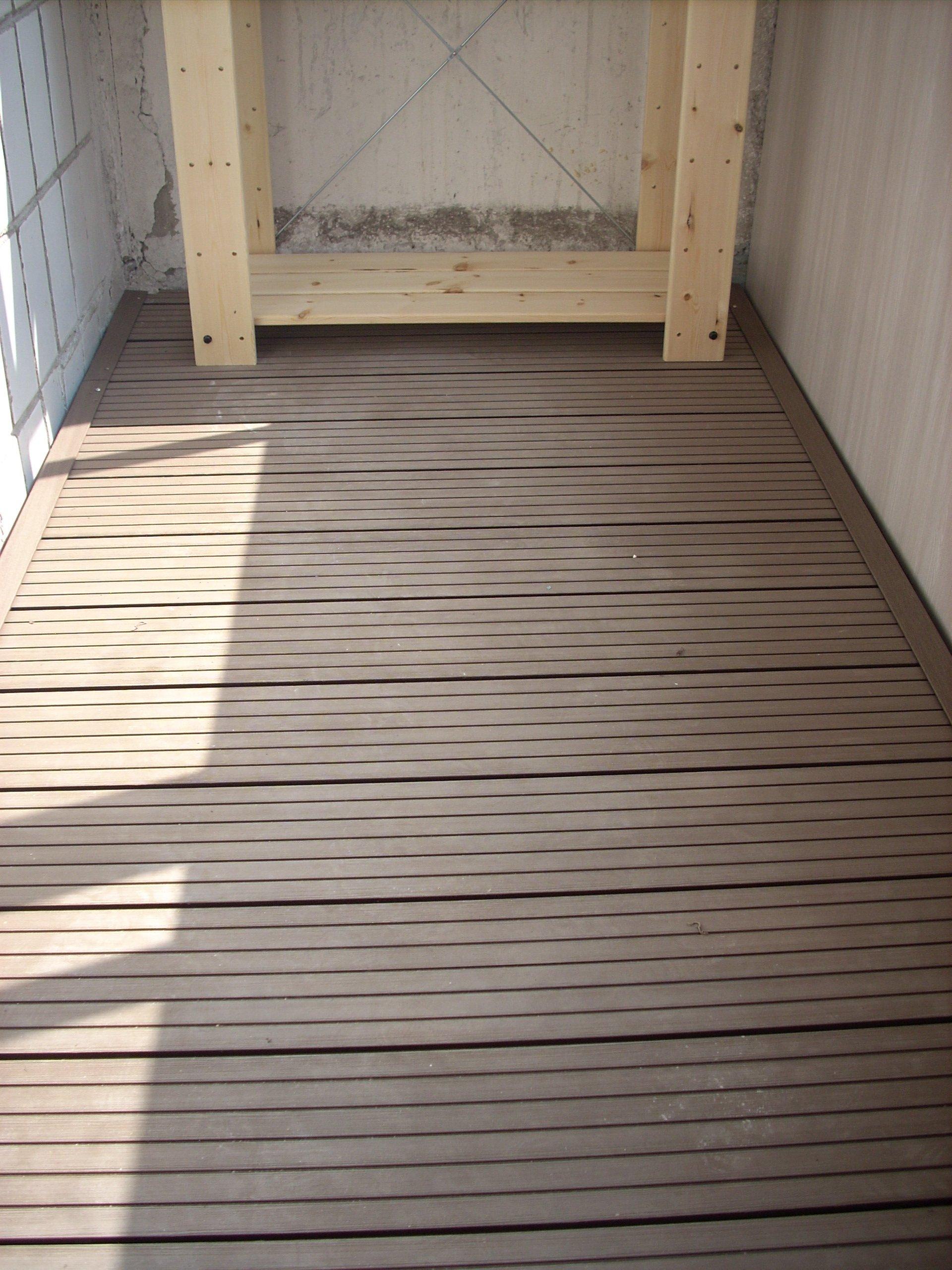 Пол на балконе или лоджии: 3 несложных этапа монтажа obustro.